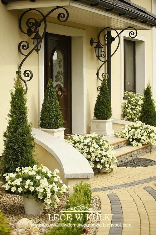 Ideas jardines decorar entradas 29 for Entrada de la casa moderna decoracion