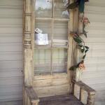Ideas para decorar con puertas recicladas