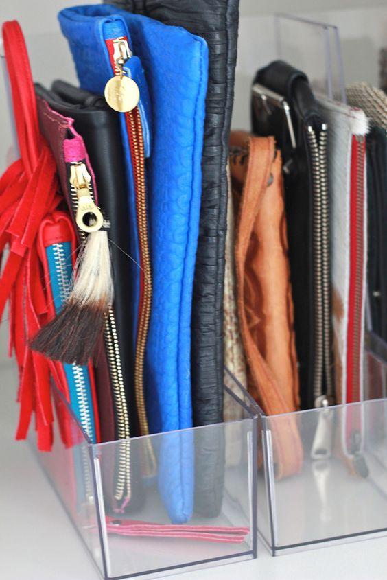 Ideas pr cticas y sencillas para organizar las bolsas - Ideas para organizar la casa ...
