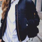 Looks con bomber jacket para otoño-invierno 2017