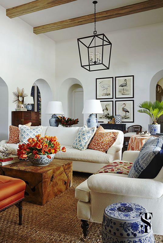 Modernas alternativas para decorar tu casa con el color - Decoracion con color naranja ...