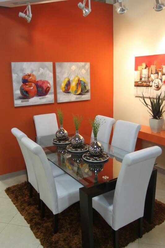 modernas alternativas decorar casa color naranja 12