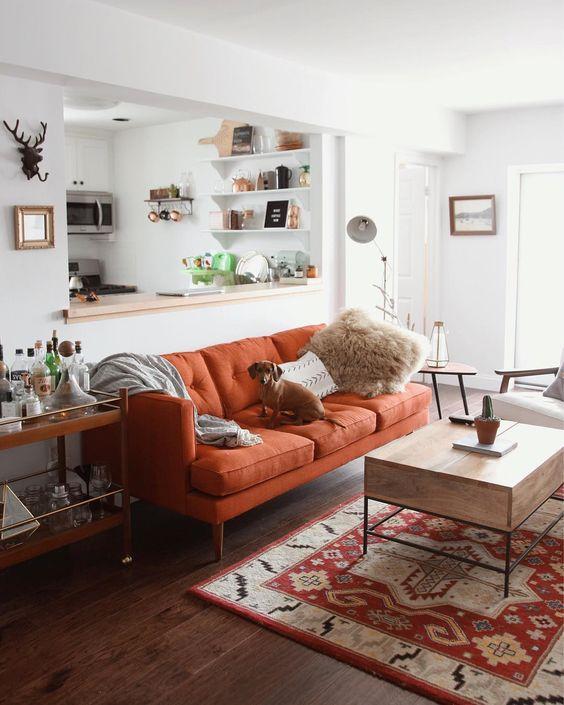 Modernas alternativas decorar casa color naranja 19 for Decoracion alternativa interiores