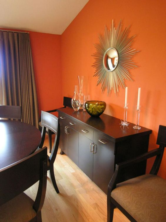 Modernas alternativas decorar casa color naranja 6 for Como decorar interiores de casas