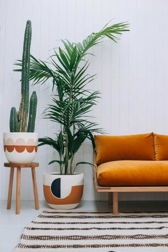 Modernas alternativas para decorar tu casa con el color naranja