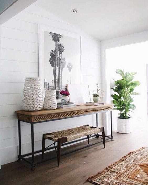 Propuestas para decorar una entrada sencilla for Como decorar una casa sencilla