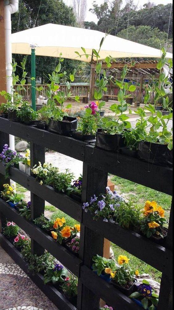 Proyectos DIY con pallets para el jardín