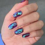 Uñas con efecto glass ¡Un toque diferente a tus manos!