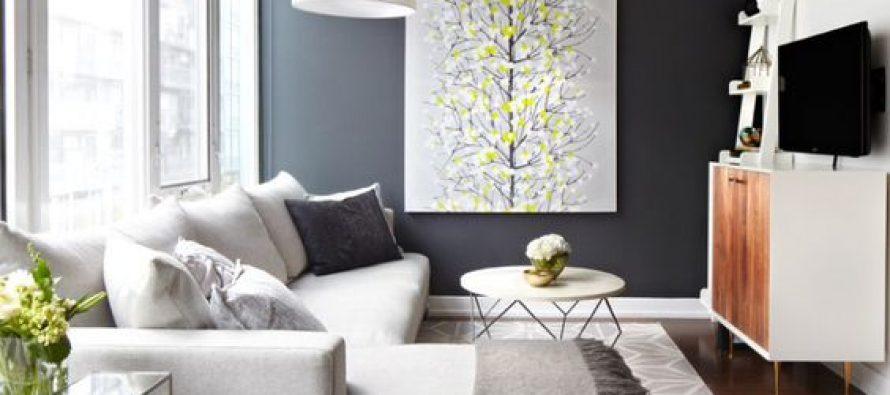 27 ideas para decorar una sala peque a y hacer que luzca for Ideas para decorar salas modernas