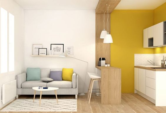 27 Ideas para Decorar una Sala Pequeña y Hacer que Luzca Moderna