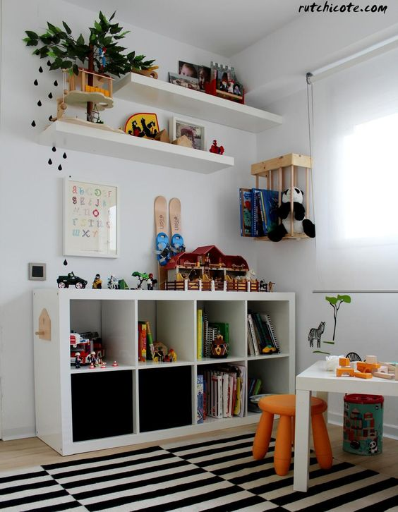 Como organizar una habitacion infantil decoracion de for Como organizar mi habitacion