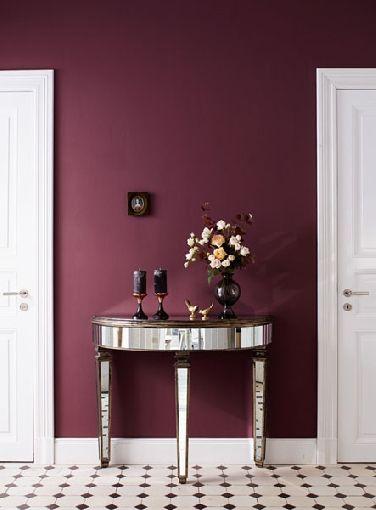 Decora tu hogar con color marsala decoracion de for Home disena y decora tu hogar