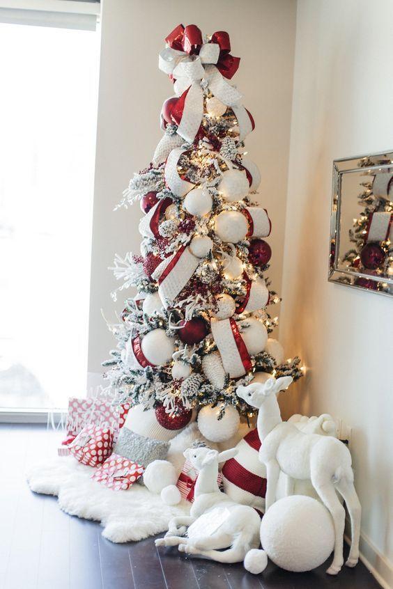 Decoraci n de rboles navide os que a aden un toque - Decoracion para arboles navidenos ...