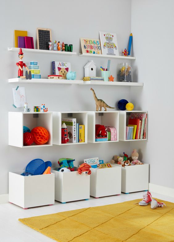 Estanterias para habitaciones de niños 3b882fd9513c