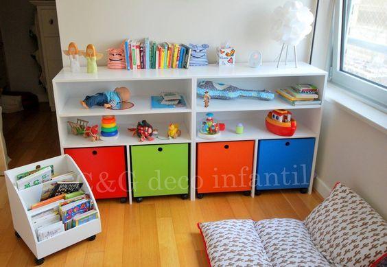 Estanterías para habitaciones de niños
