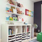 Estanterias modernas para habitaciones infantiles