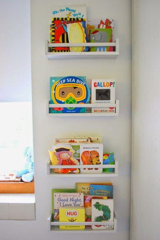 estanterias para libros infantiles decoracion de. Black Bedroom Furniture Sets. Home Design Ideas