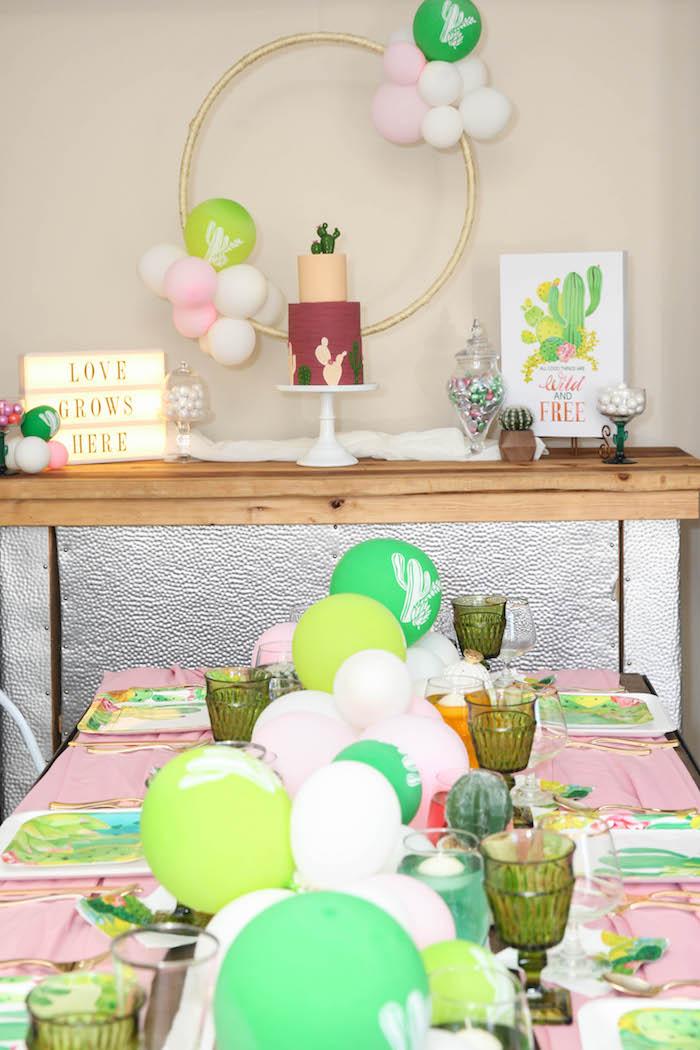 Ideas para una Fiesta con Temática de Cactus