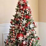 Ideas en blanco y rojo para navidad 2017
