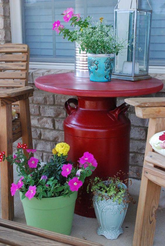 Ideas para Añadir Mesas de Centro con Material Reciclado