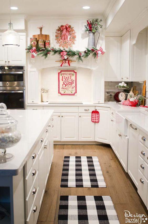 Ideas para decorar tu cocina esta navidad | Decoracion de interiores ...