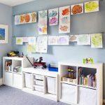 Organizacion para habitaciones infantiles