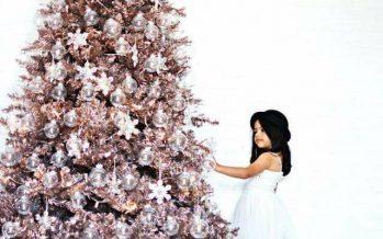 Como Decorar con Detalles Navideños en Oro Rosado
