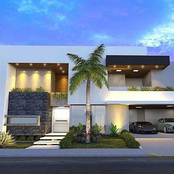 Acabados para la fachada de una casa 3 decoracion de for Acabados fachadas minimalistas