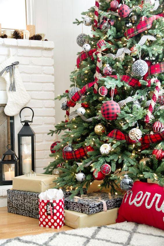 Tendencia en pinos de navidad