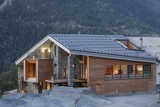casas en montanas