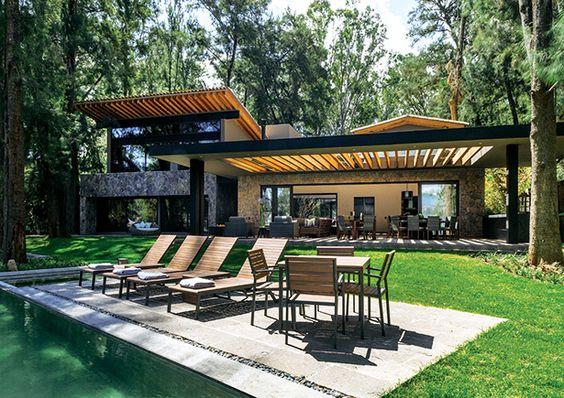casas modernas en el bosque (3)