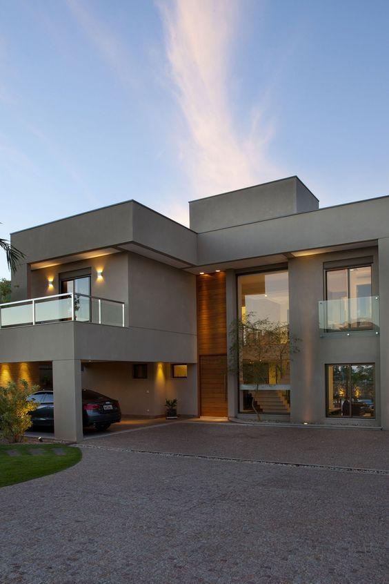 Color gris para la fachada de una casa decoracion de interiores fachadas para casas como - Fachada de una casa ...