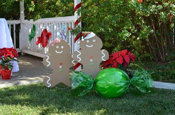 Decoración del jardín para navidad 2018