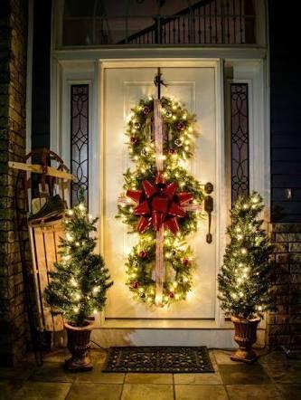 Decoracion navideña 2018 para puertas