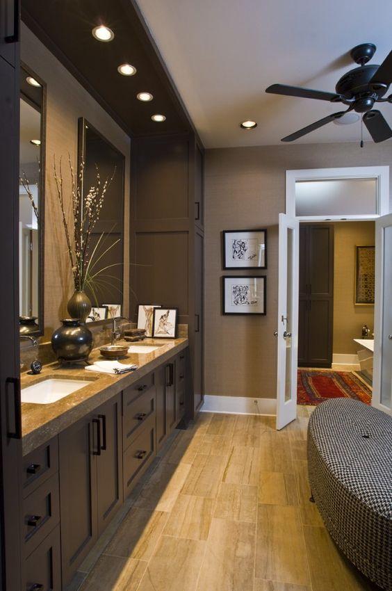 Como decorar un cuarto de baño moderno | Como Organizar la ...