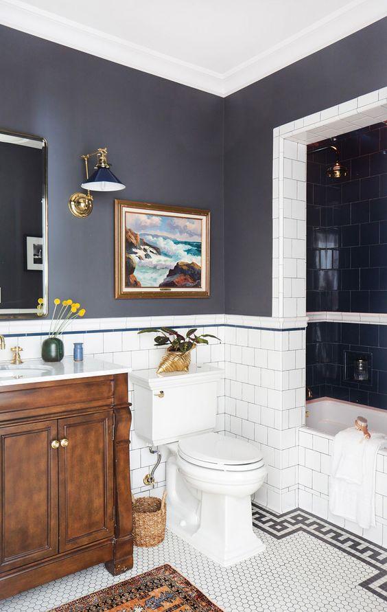 Como decorar un cuarto de baño moderno   Decoracion de ...