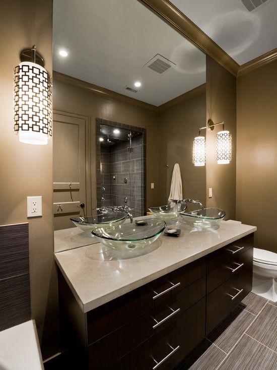 Como decorar un cuarto de ba o moderno decoracion de - Como decorar un cuarto de bano ...