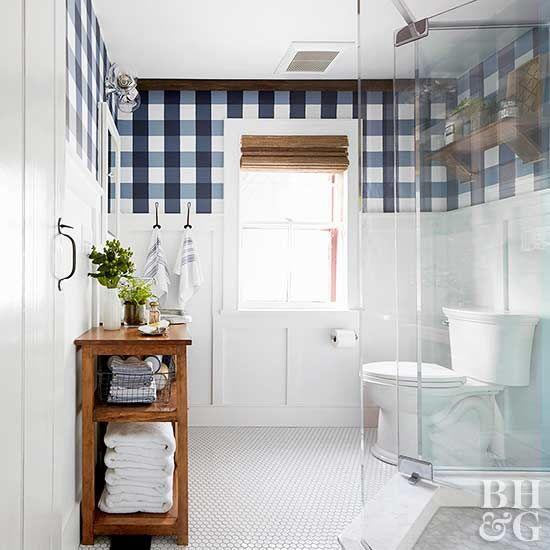 Como decorar un cuarto de ba o moderno decoracion de for Como limpiar un cuarto de bano
