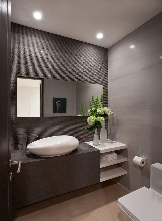 Como decorar un cuarto de baño moderno | Decoracion de interiores ...
