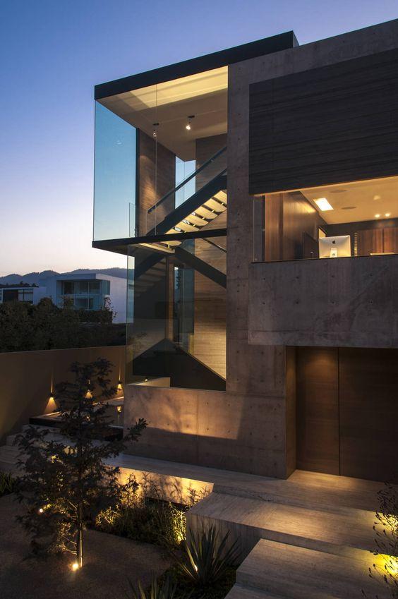 Fachadas y dise os de casas 2017 2018 for Casa de arquitecto moderno