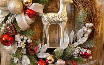 Diseños de coronas navideñas 2017 – 2018