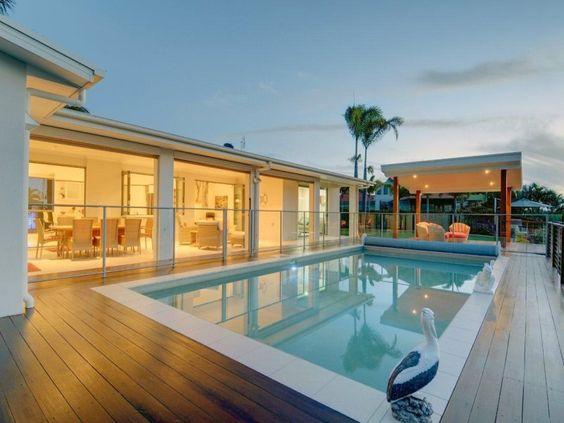 Dise os de bordes y exteriores para piscinas for La casa stupefacente progetta l australia