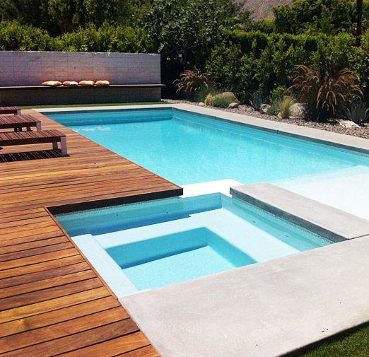 Diseños de bordes y exteriores para piscinas
