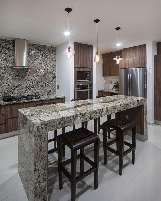 Encimeras marmol cocina 19 como organizar la casa for Decoracion apartamentos modernos en bogota