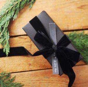 Envolturas navideñas con liston