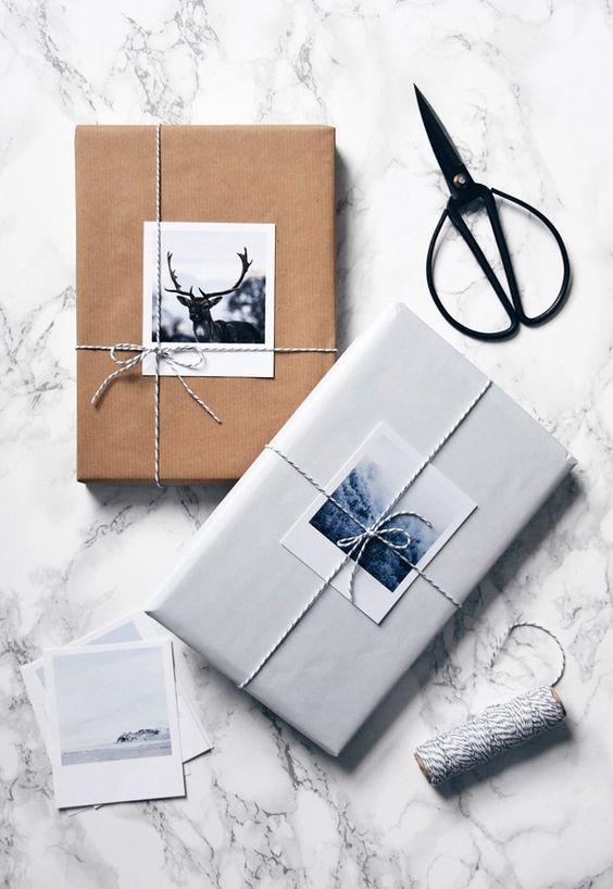 Envolturas navideñas creativas