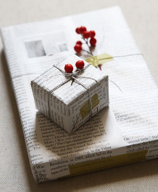 Envolturas navideñas recicladas