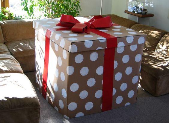 Envolturas para regalo sorpresa de quinceañera