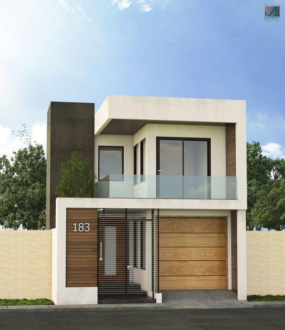 fachada con pintura marron y blanca (2)