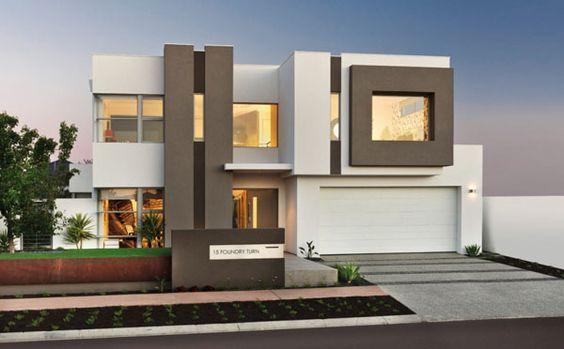 fachada con pintura marron y blanca (4)